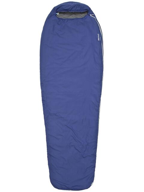 Marmot NanoWave 50 Semi Rec Sleeping Bag Long Deep Blue